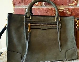 NEW Rebecca Minkoff Regan Satchel Tote *Suede*